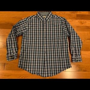Men's Haggar Clothing Stretch dress shirt - sz L